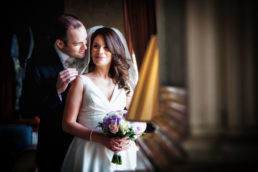 bride and groom at their tankardstown house wedding photography