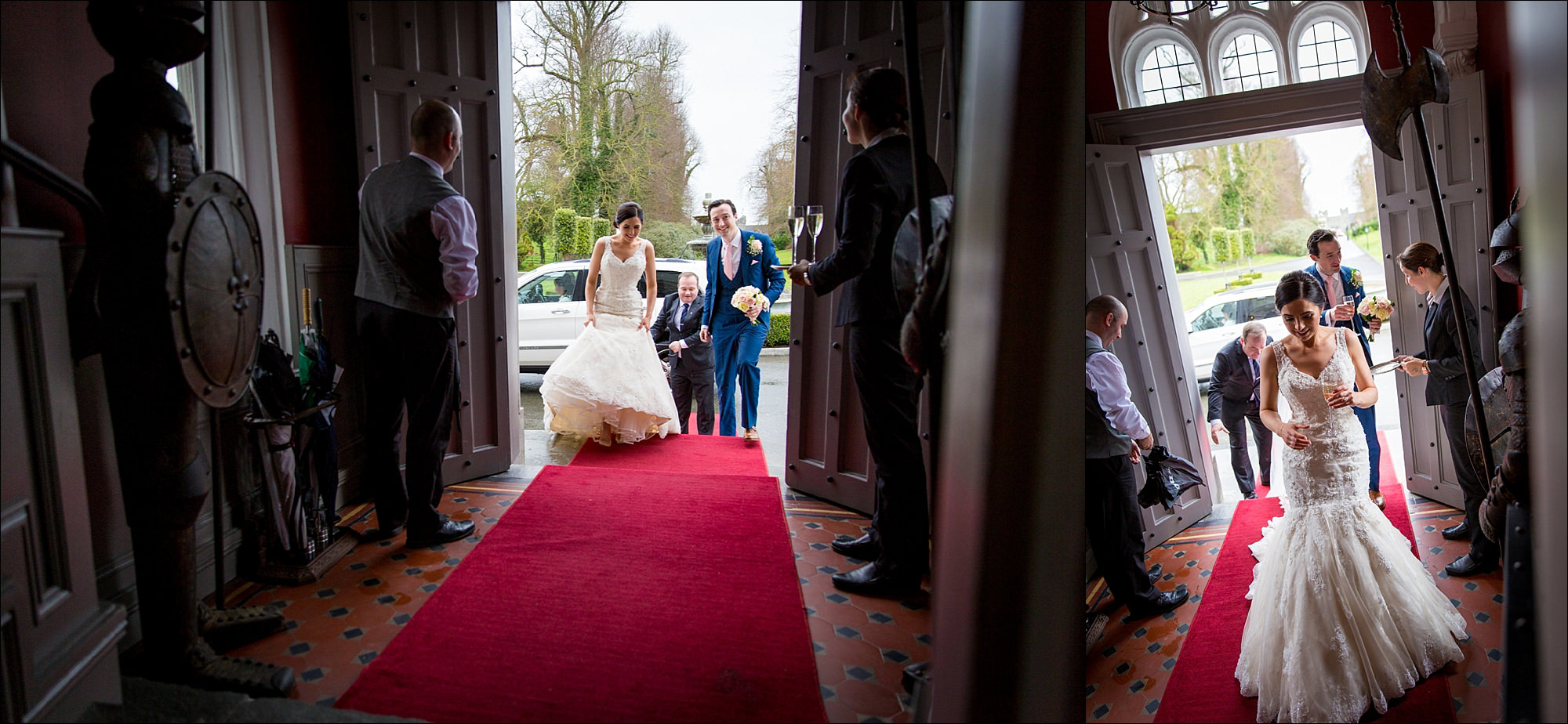 dublin wedding photographer david duignan photography bellingham castle weddings Ireland 0048