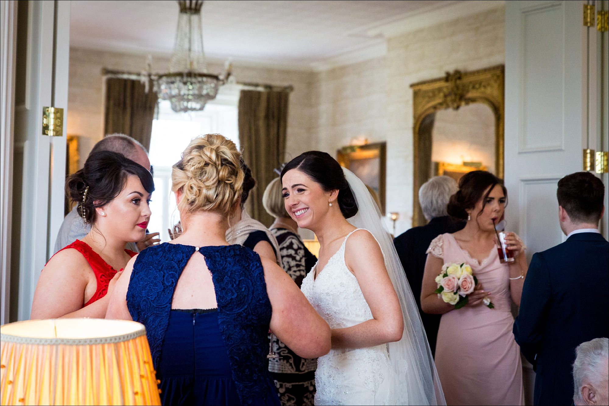 dublin wedding photographer david duignan photography bellingham castle weddings Ireland 0052
