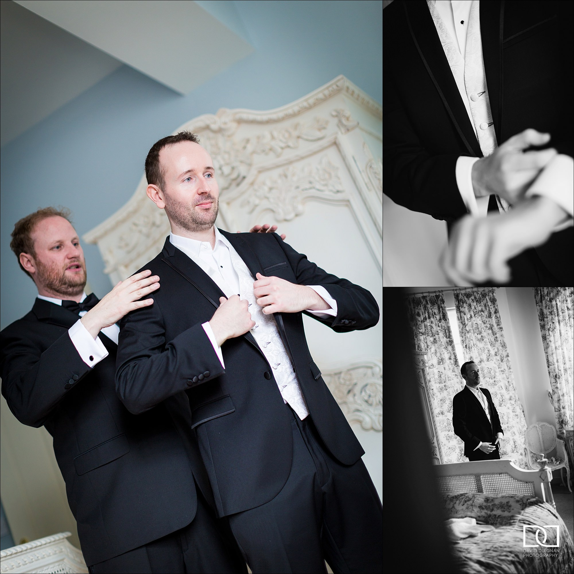 dublin wedding photographer david duignan photography castle leslie weddings Ireland 0007