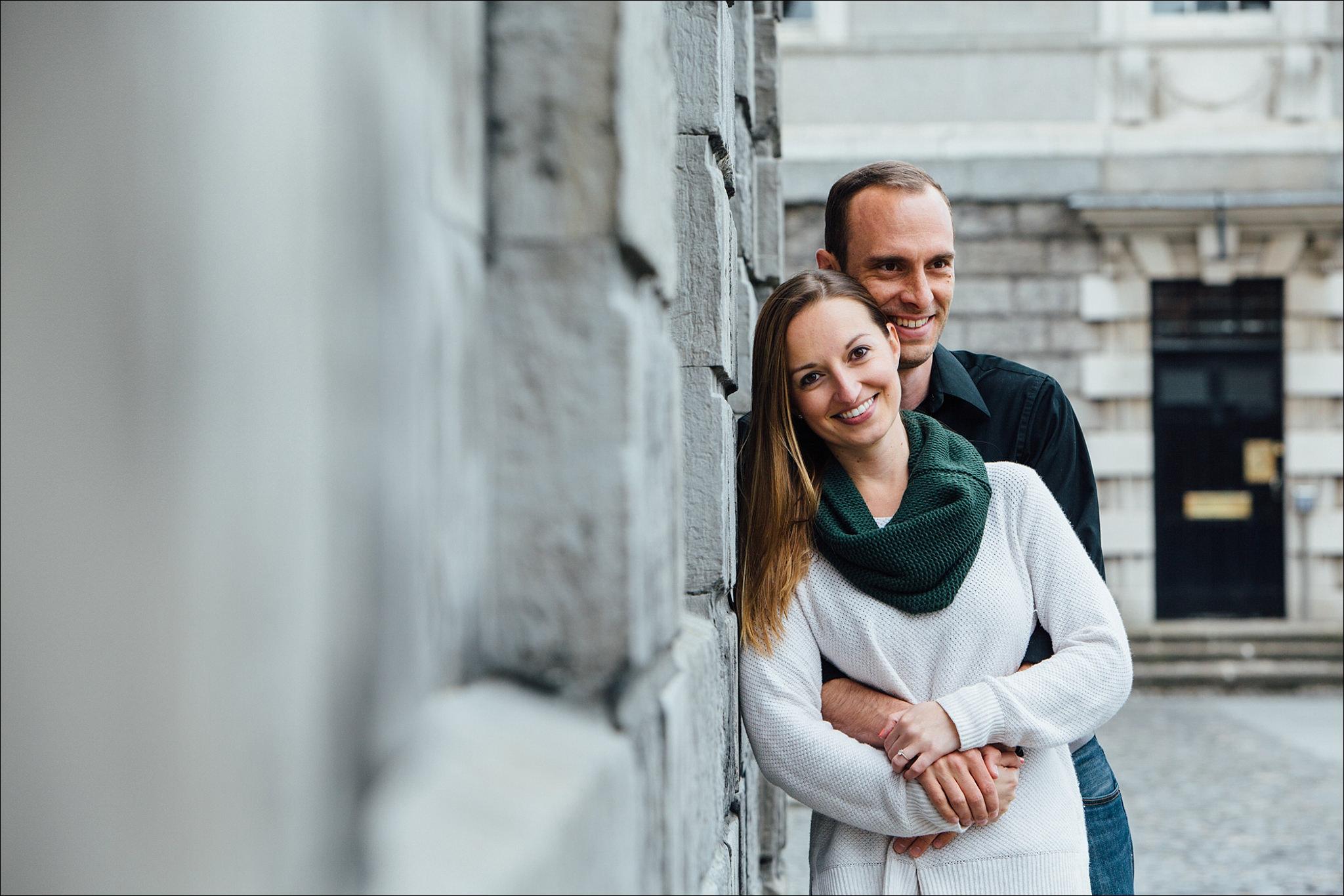 dublin wedding photographer david duignan photography engagement couple city photo shoot  ireland 0021