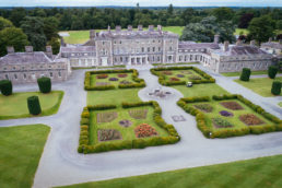 aerial photograph of carton house maynooth