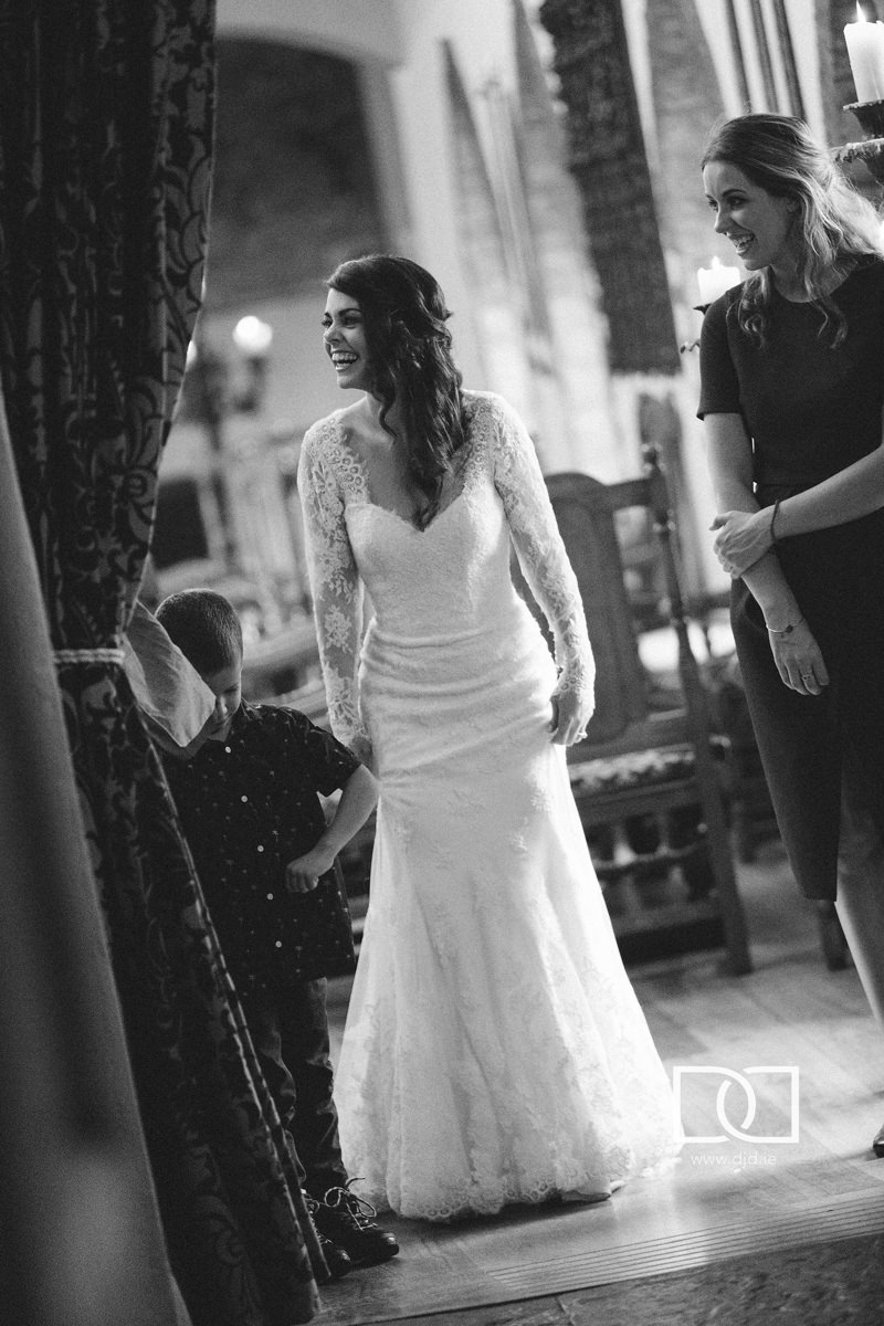 documentary wedding photography barberstown castle 0217