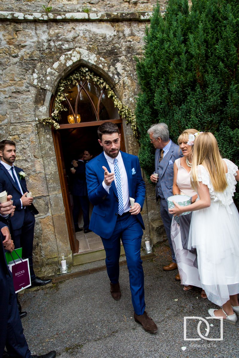 documentary wedding photography castle leslie monaghan 0175