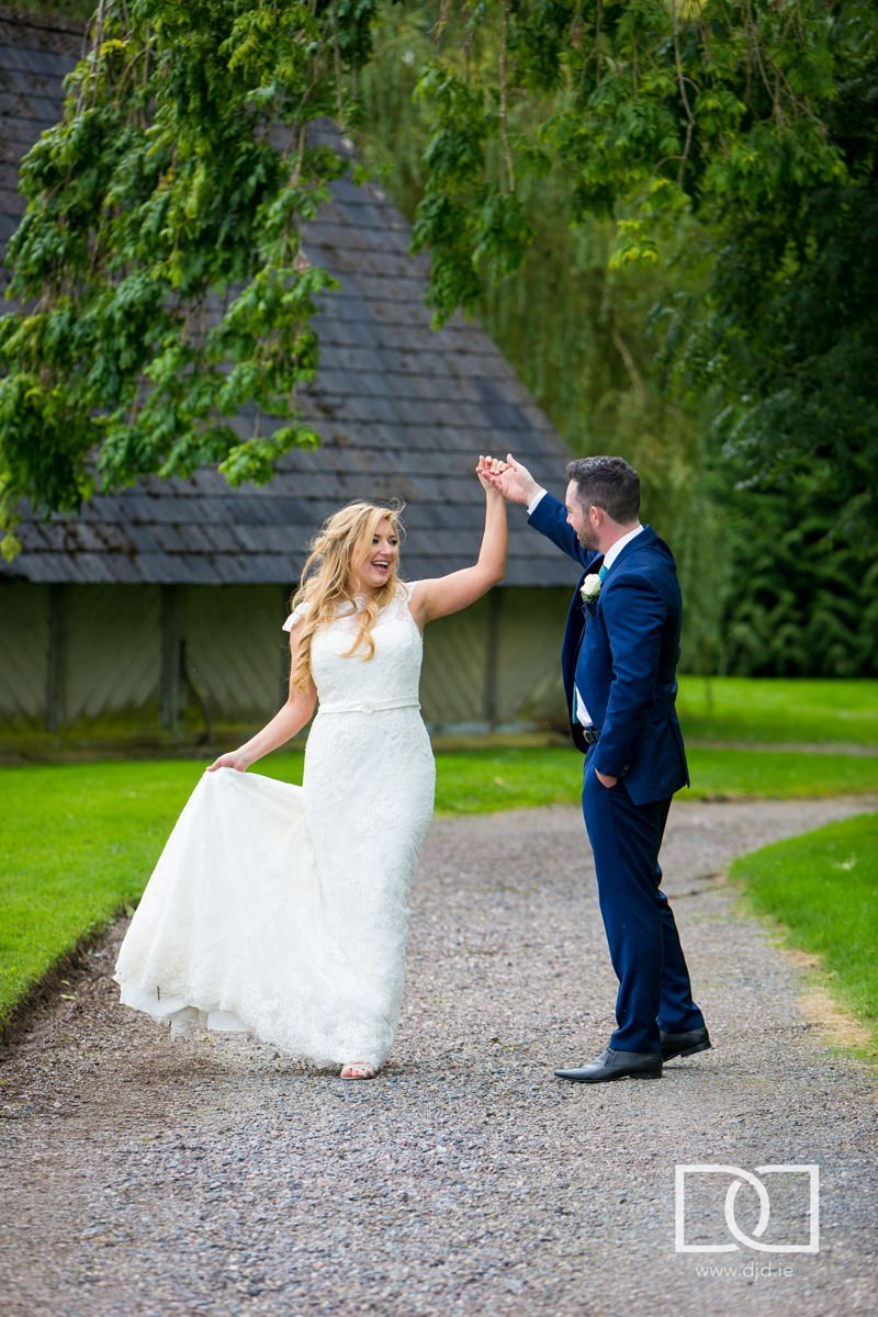 wedding at castle leslie co monaghan