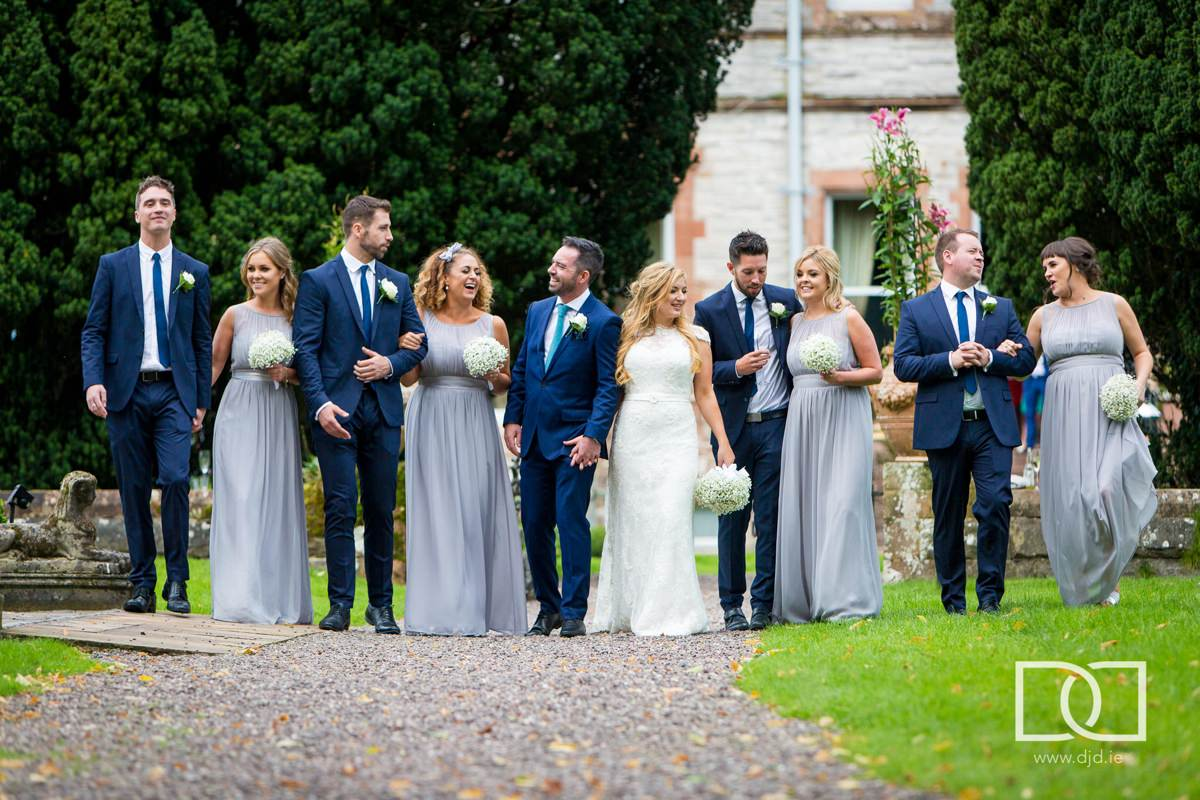 documentary wedding photography castle leslie monaghan 0216