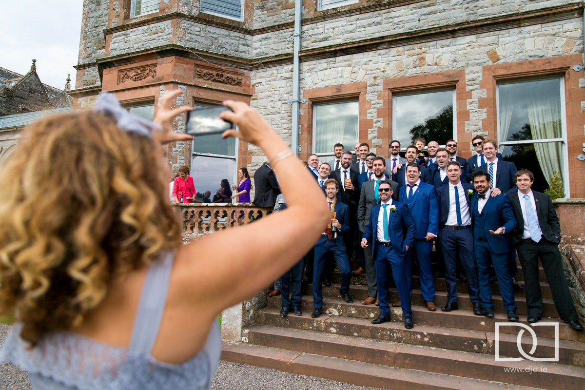 documentary wedding photography castle leslie monaghan 0227