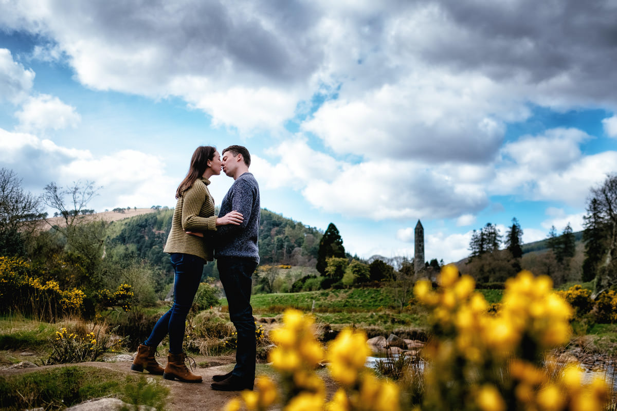 engagement shoot glendalough wicklow 0002