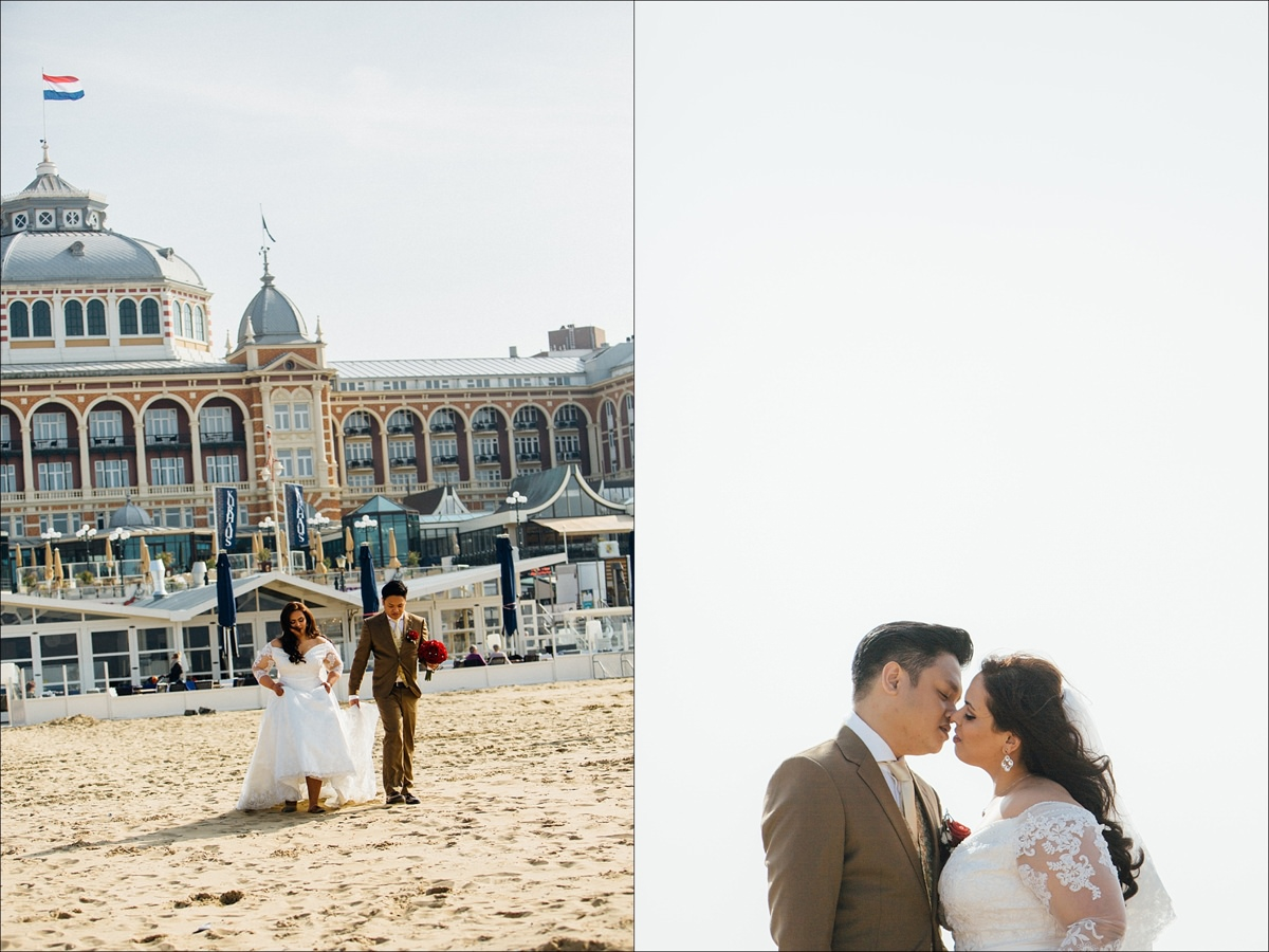 grand hotel amrath kurhaus scheveningen netherlands wedding 0030