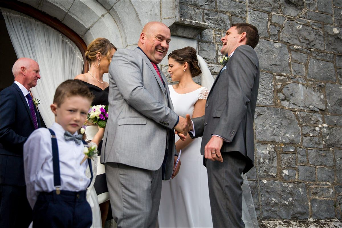 hotel doolin hags head cliffs moher wedding co clare 0057