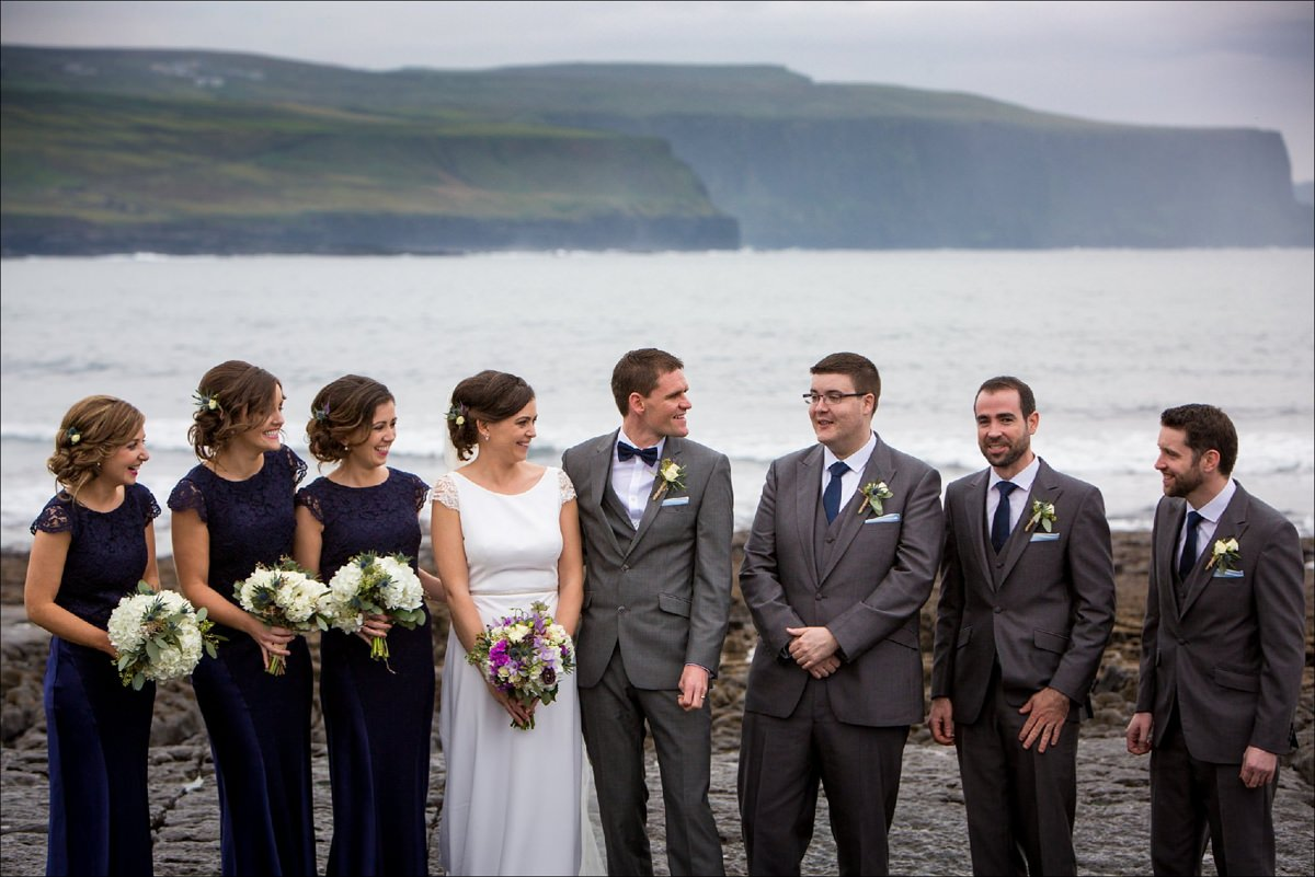 hotel doolin hags head cliffs moher wedding co clare 0079