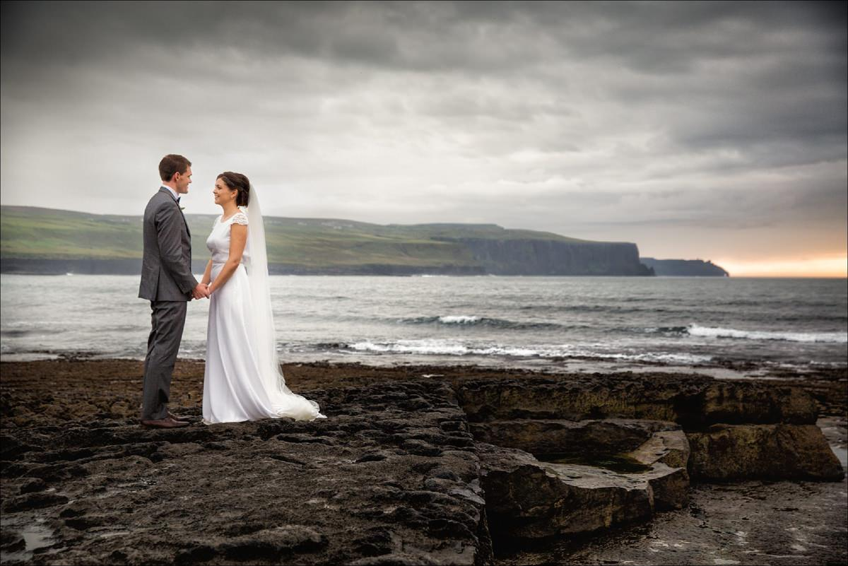 hotel doolin hags head cliffs moher wedding co clare 0085