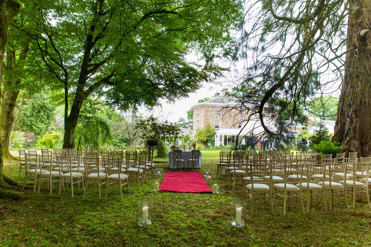 outdoor wedding marlfield house gorey wexford 0049