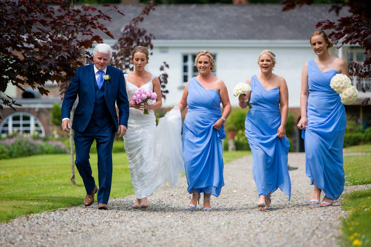 outdoor wedding marlfield house gorey wexford 0054