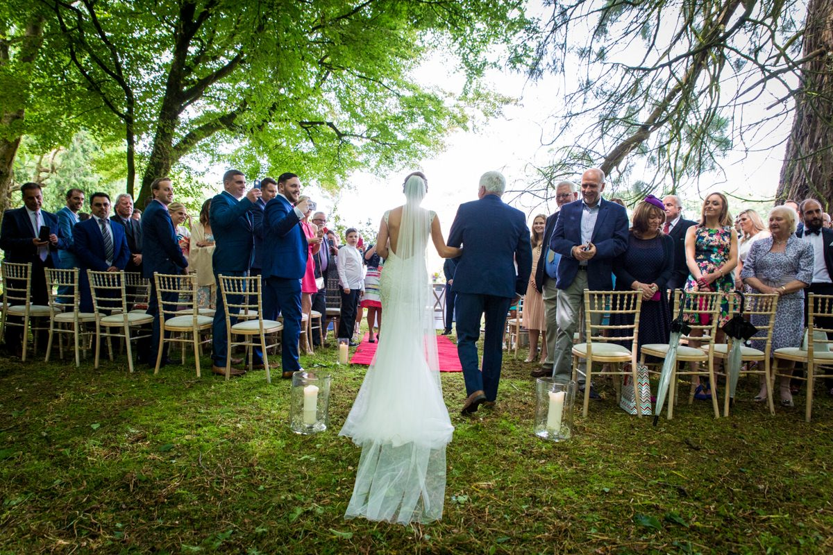 outdoor wedding marlfield house gorey wexford 0059