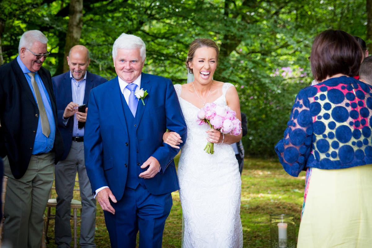 outdoor wedding marlfield house gorey wexford 0061
