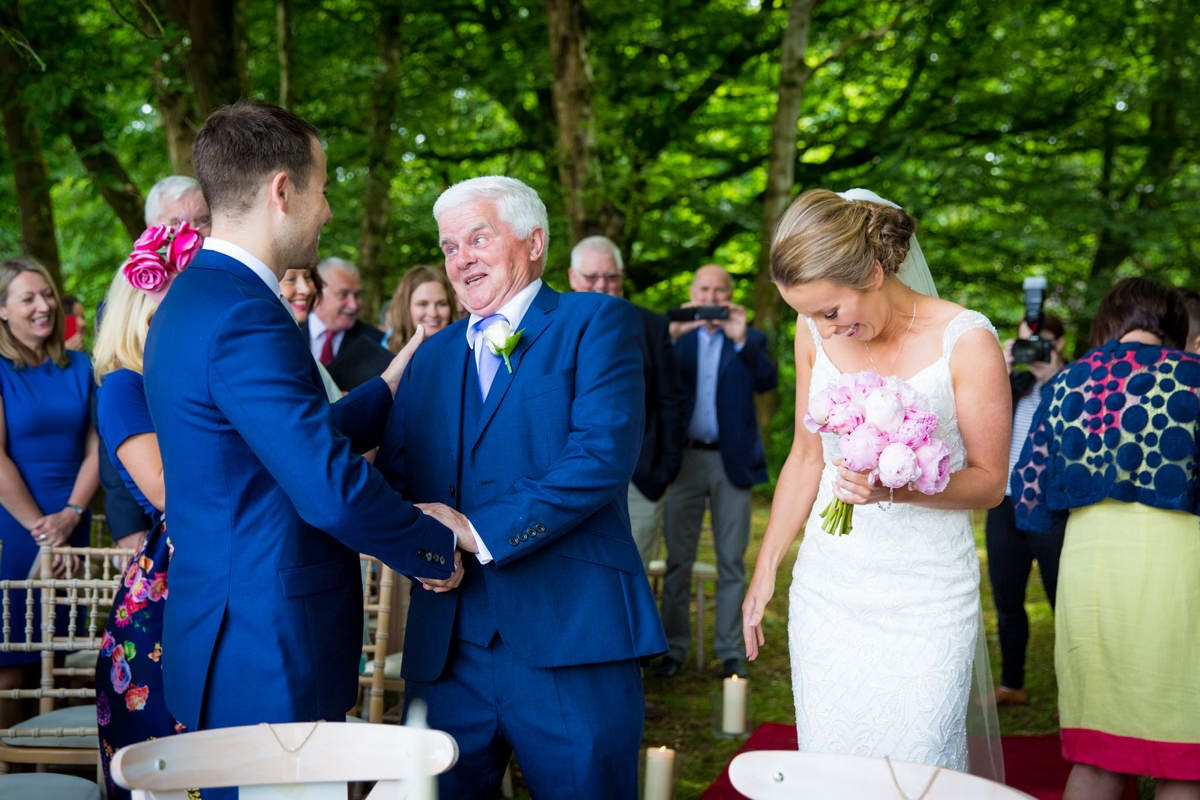 outdoor wedding marlfield house gorey wexford 0062