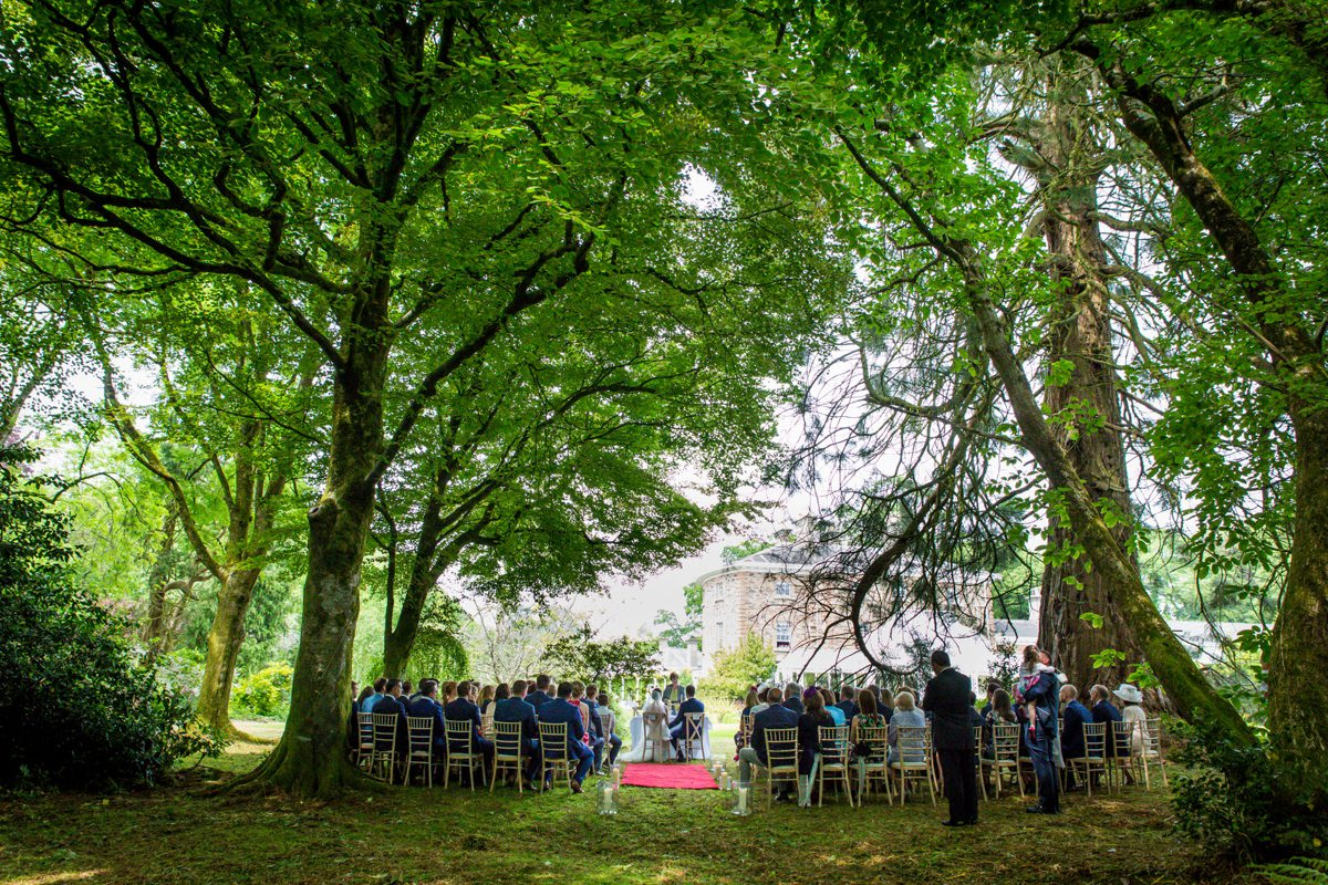 outdoor wedding marlfield house gorey wexford 0066