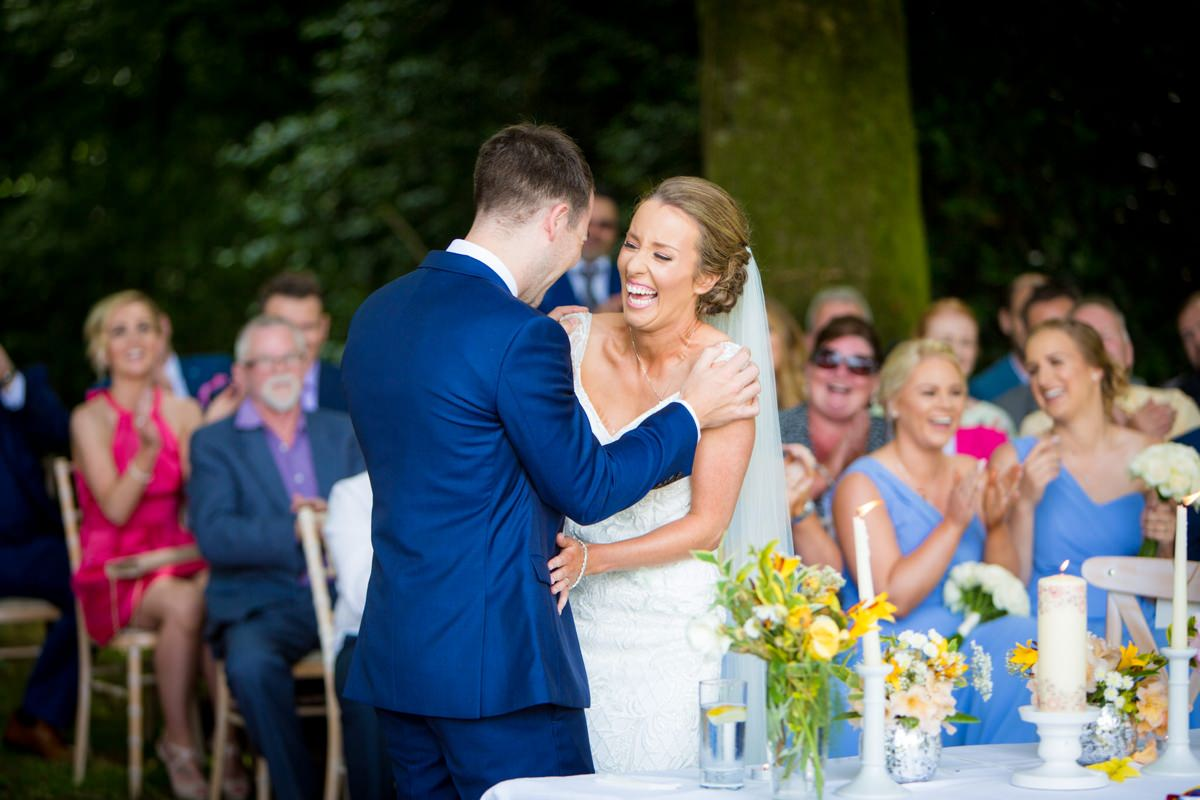 outdoor wedding marlfield house gorey wexford 0077