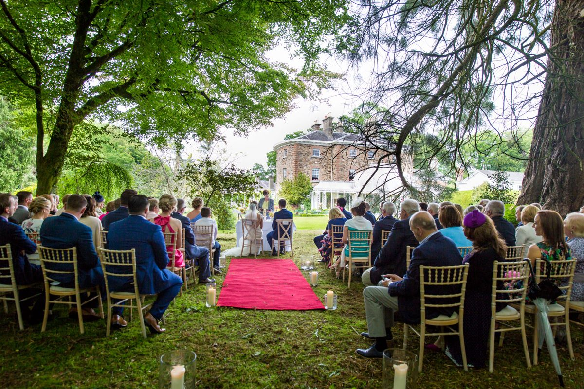 outdoor wedding marlfield house gorey wexford 0078