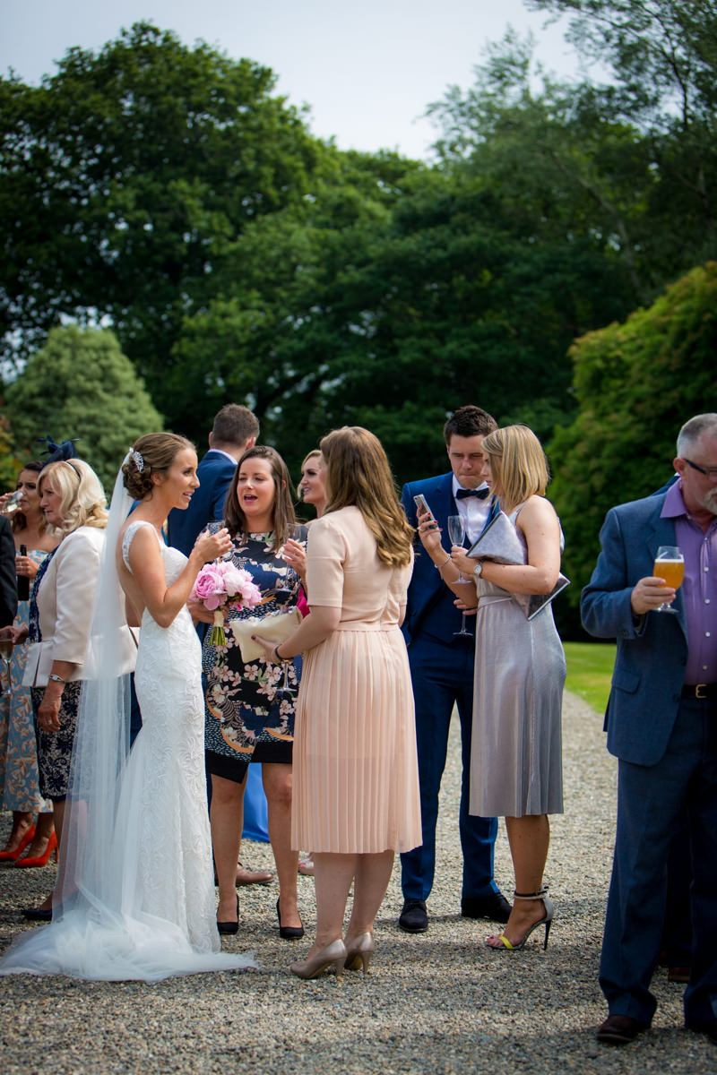 outdoor wedding marlfield house gorey wexford 0086