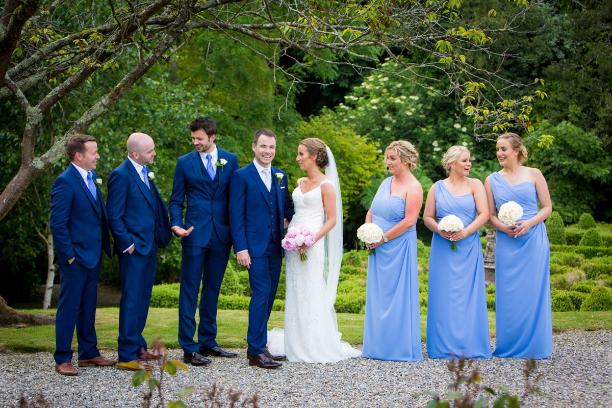outdoor wedding marlfield house gorey wexford 0112