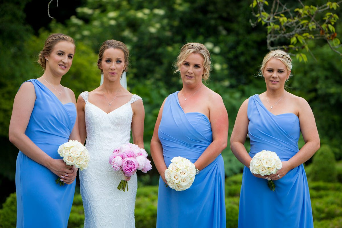 outdoor wedding marlfield house gorey wexford 0113