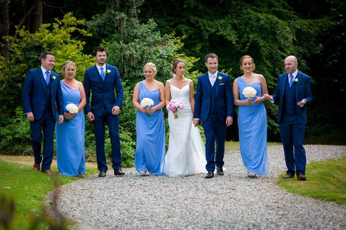 outdoor wedding marlfield house gorey wexford 0115