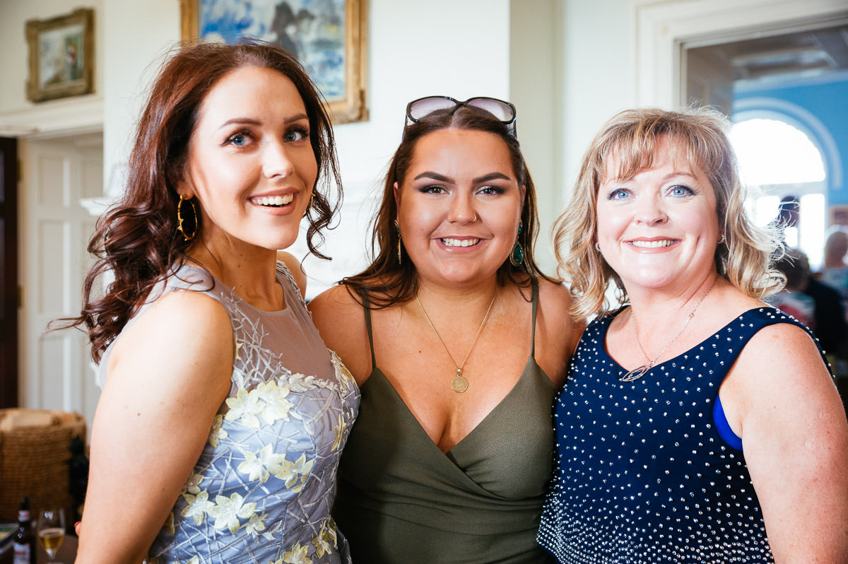 guests at a k club wedding