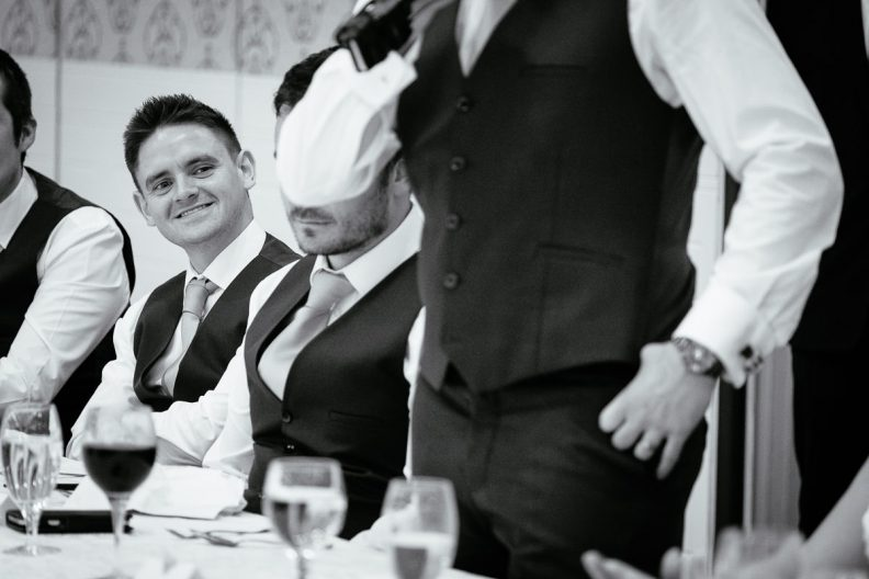 best man speech at a k club wedding