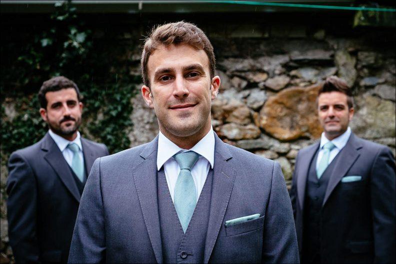 groom preparations at Huntington Castle Wedding Photography