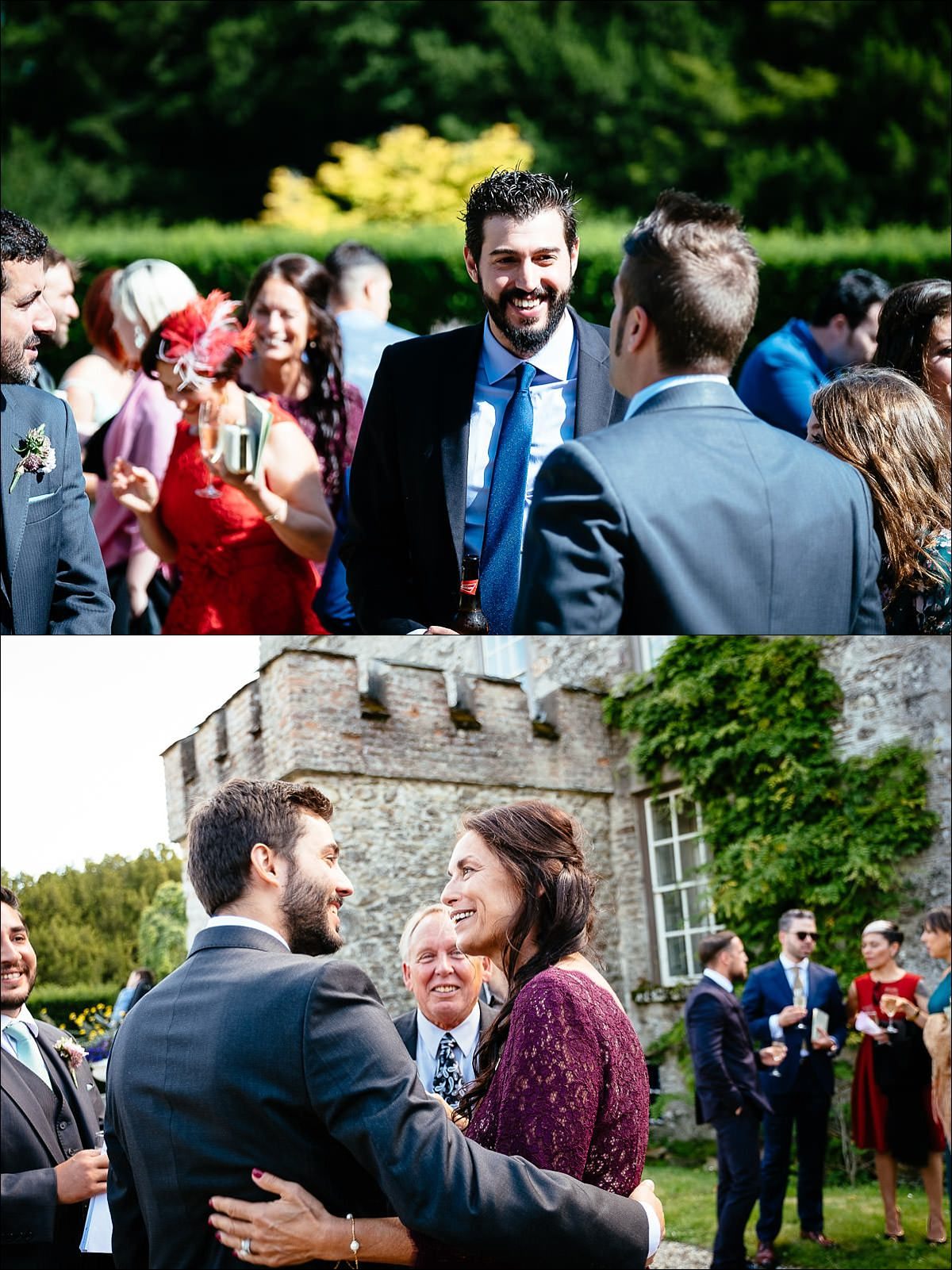 huntington castle wedding photographer 0500