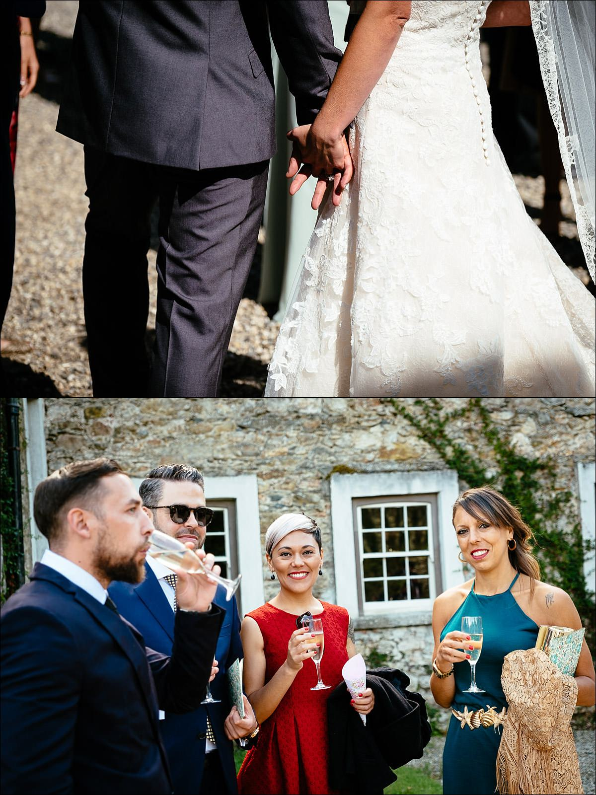 huntington castle wedding photographer 0503