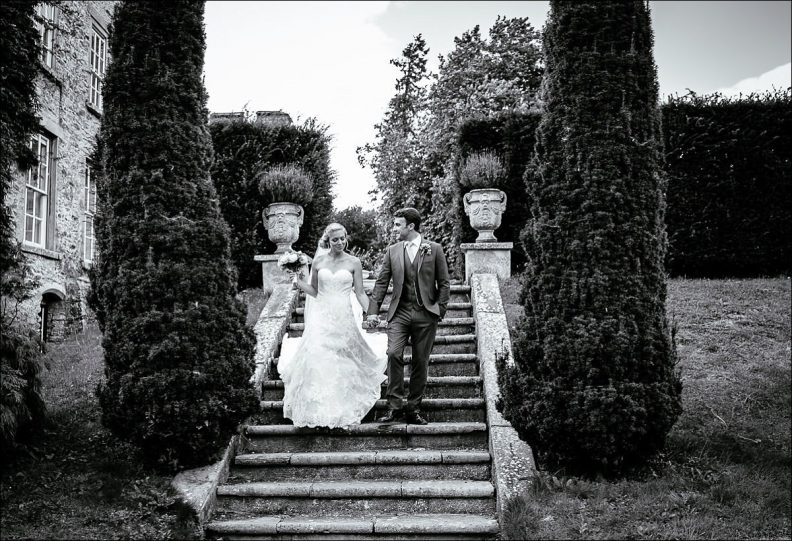 bride and groom photos at their Huntington Castle Wedding