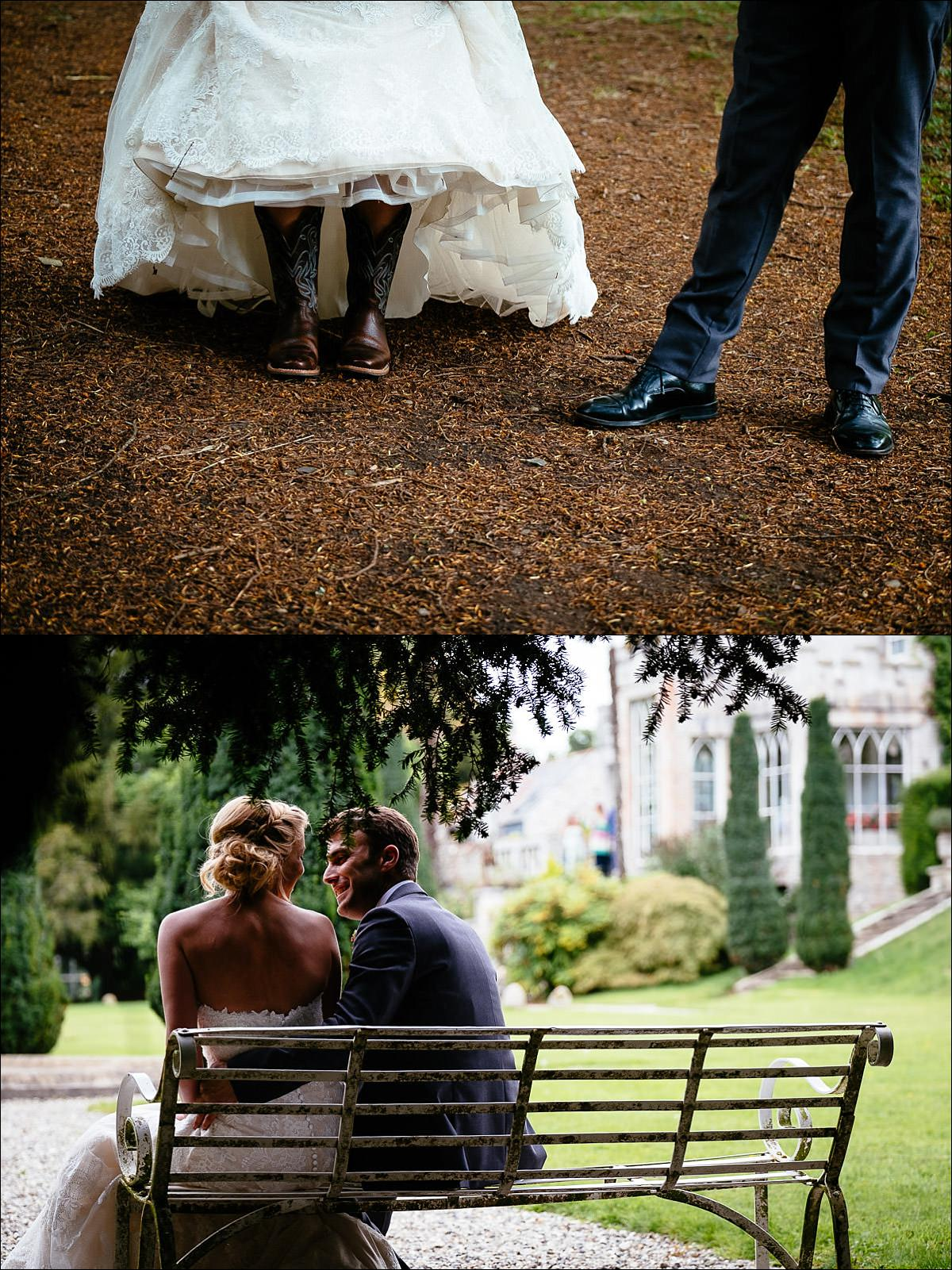 huntington castle wedding photographer 0656