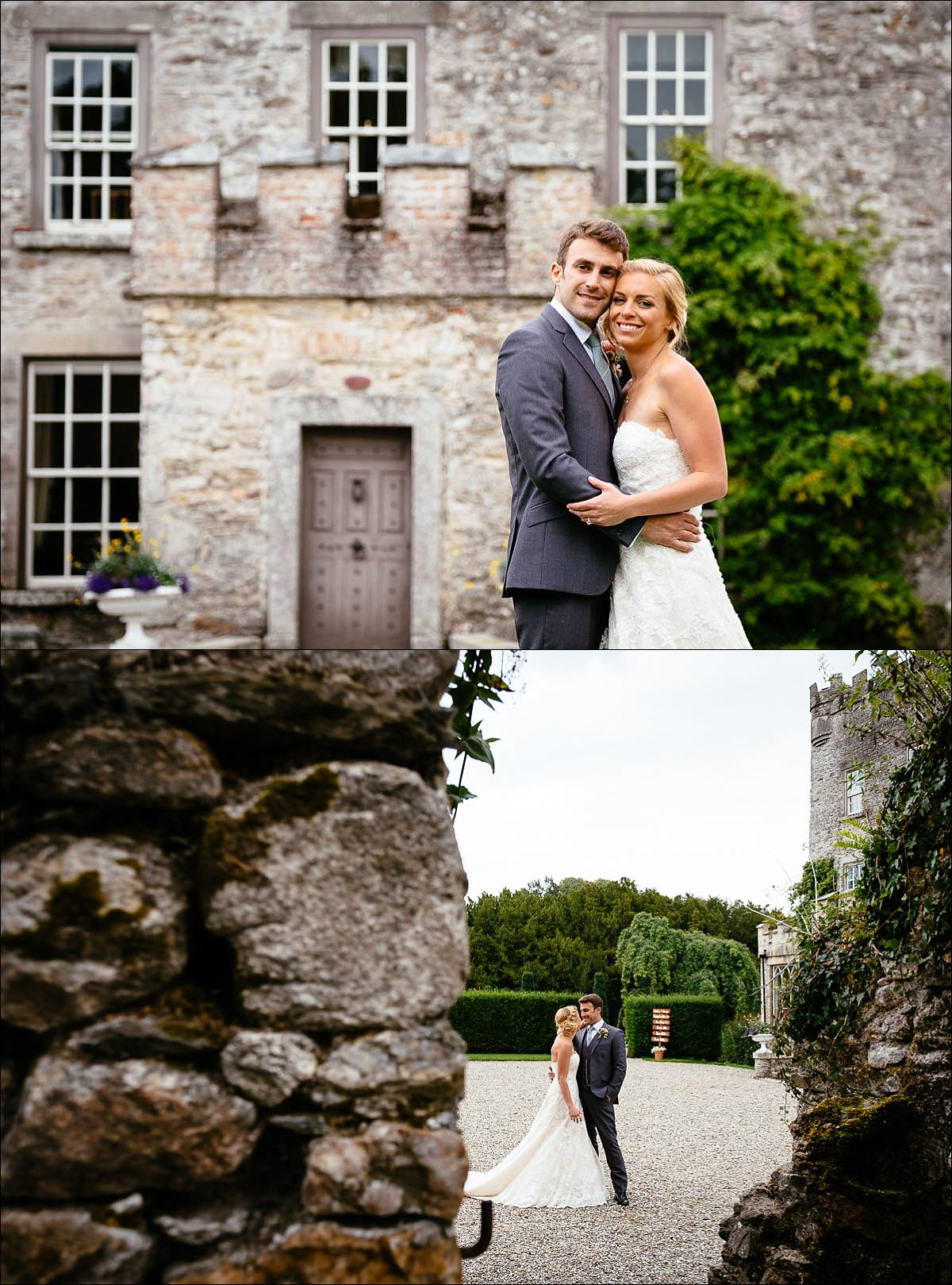 huntington castle wedding photographer 0698