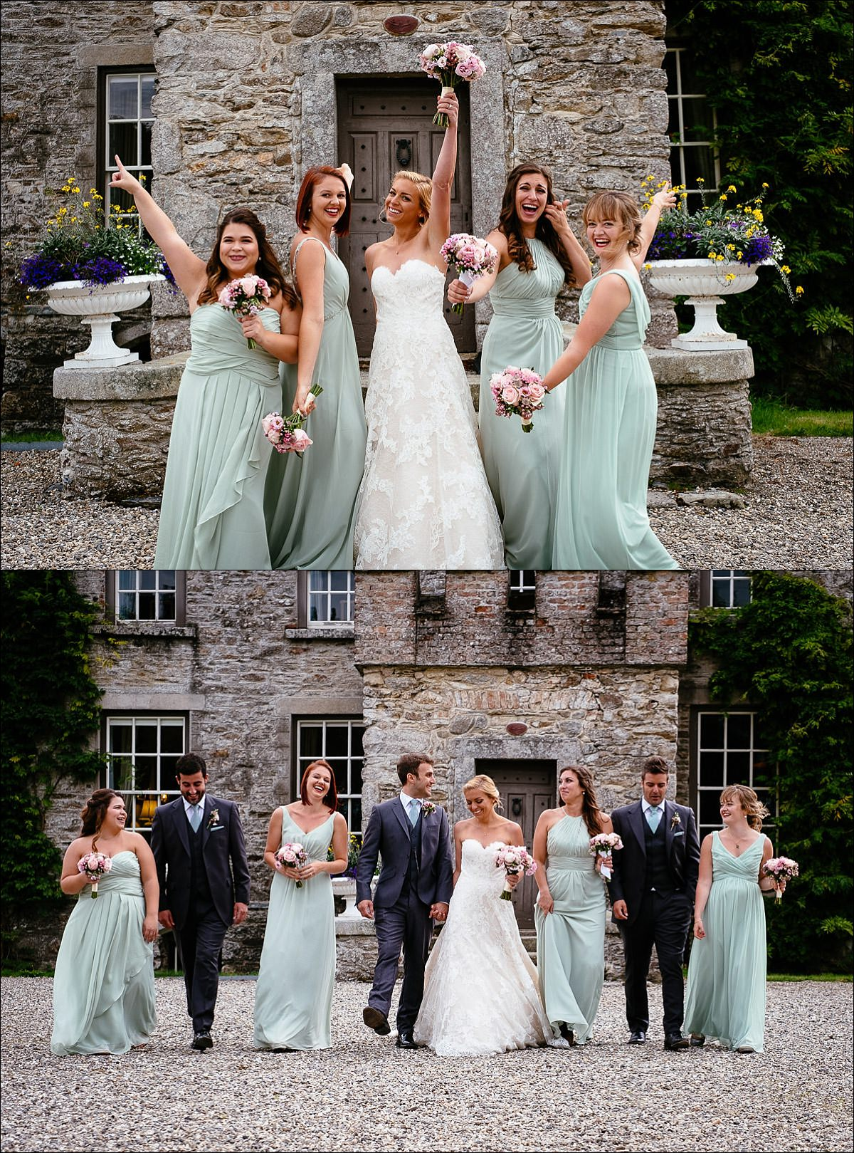 huntington castle wedding photographer 0740