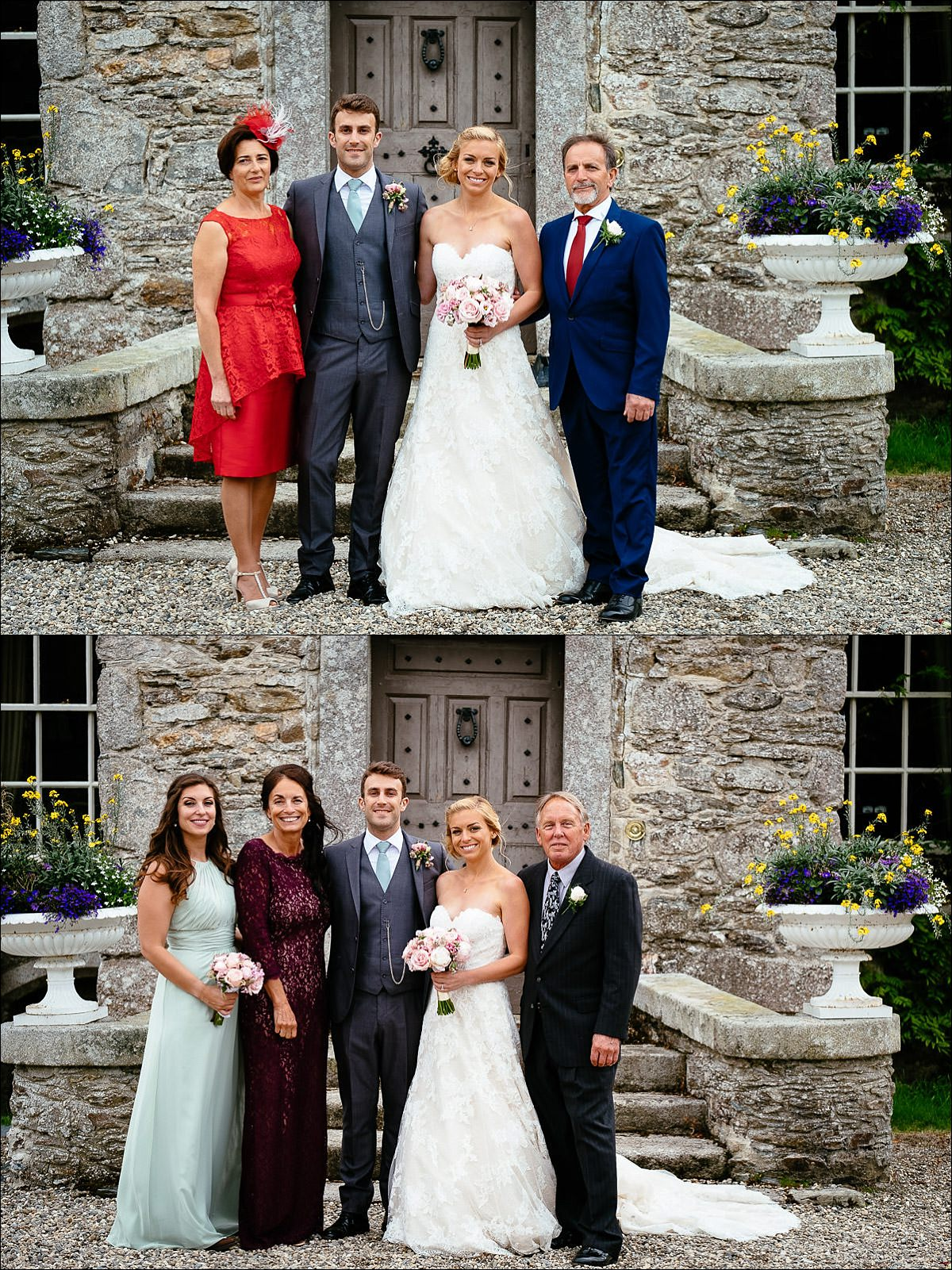 huntington castle wedding photographer 0755