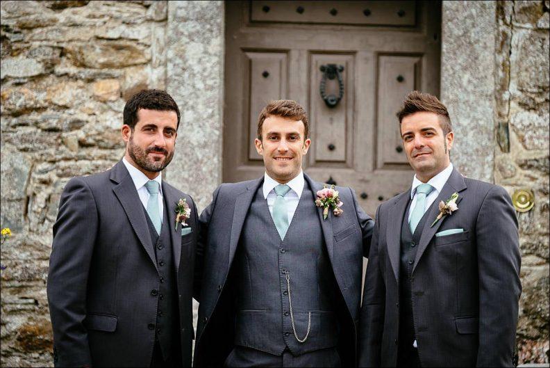 bridal party photos at Huntington Castle Wedding