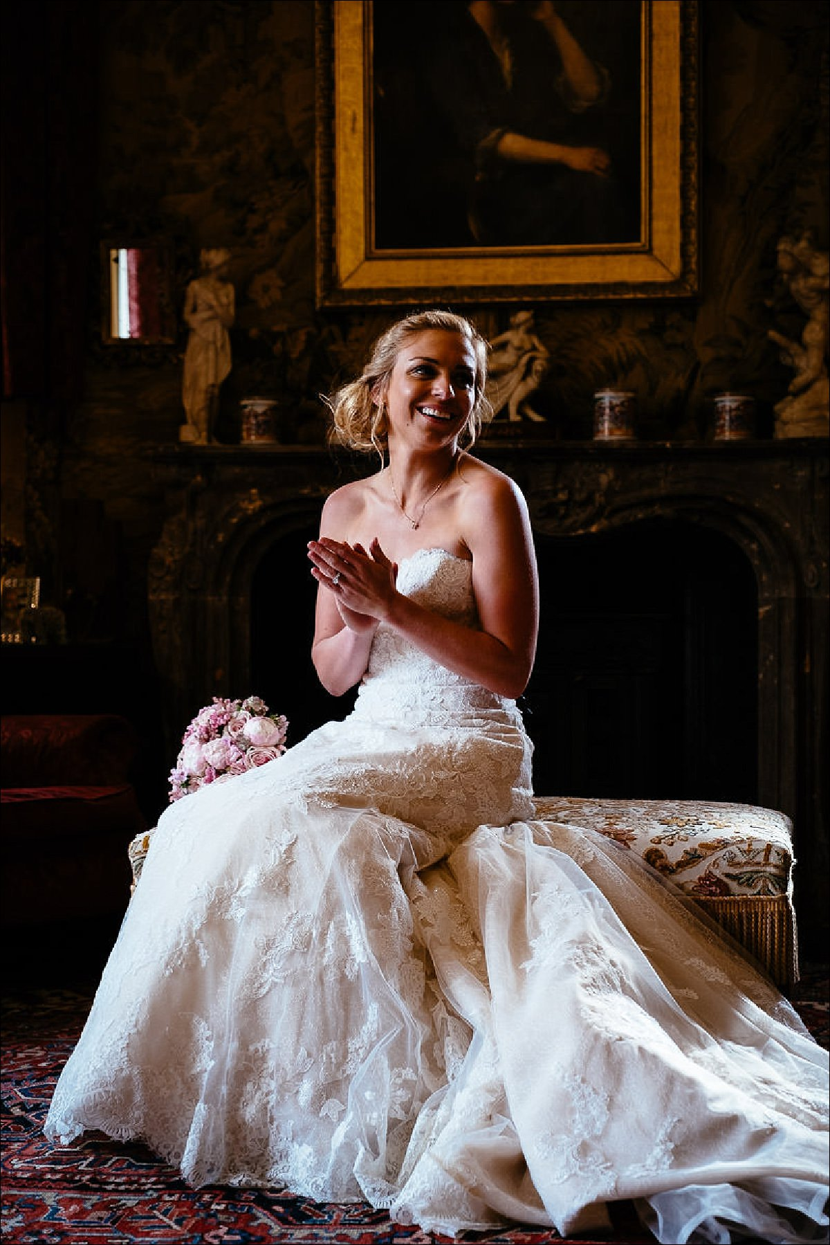 huntington castle wedding photographer 0797