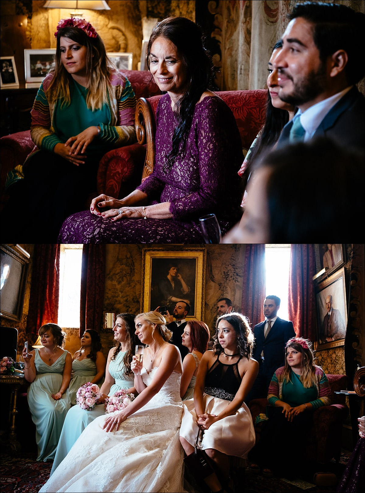 huntington castle wedding photographer 0815