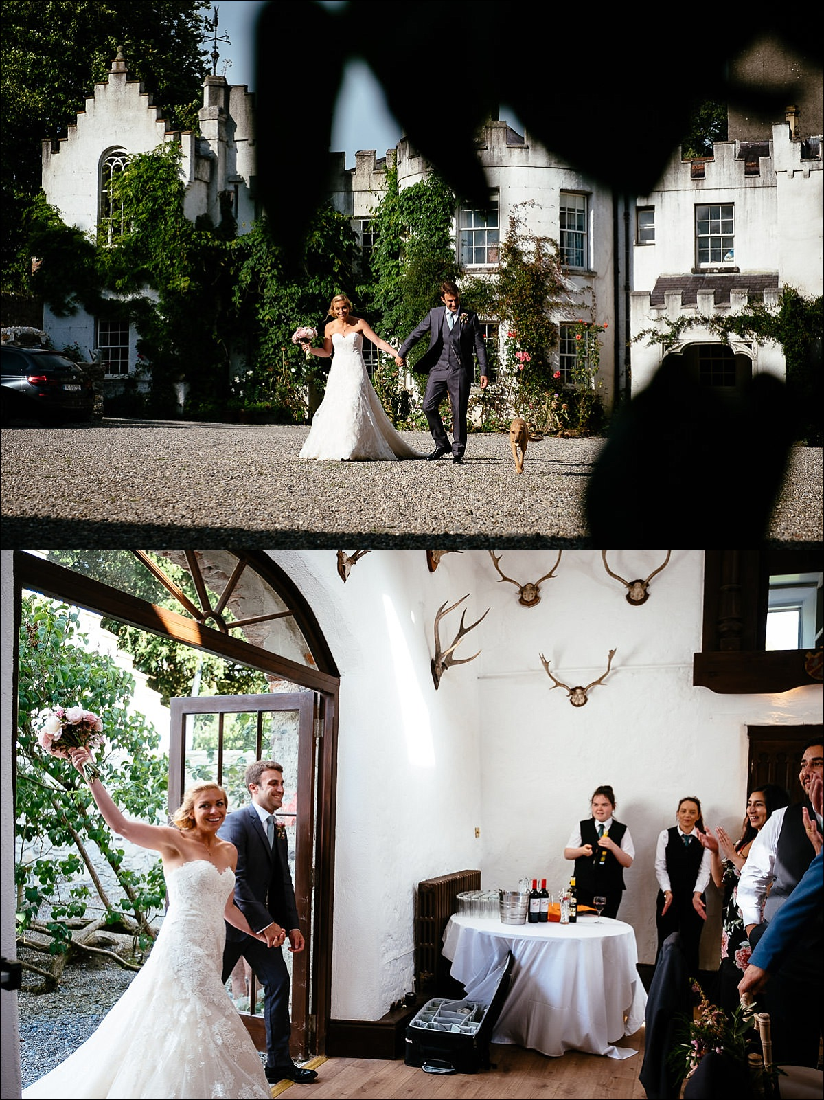 huntington castle wedding photographer 0883