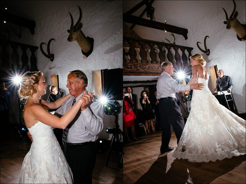 guests dancing at a Huntington Castle Wedding