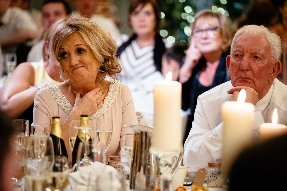 guests at ballymagarvey wedding