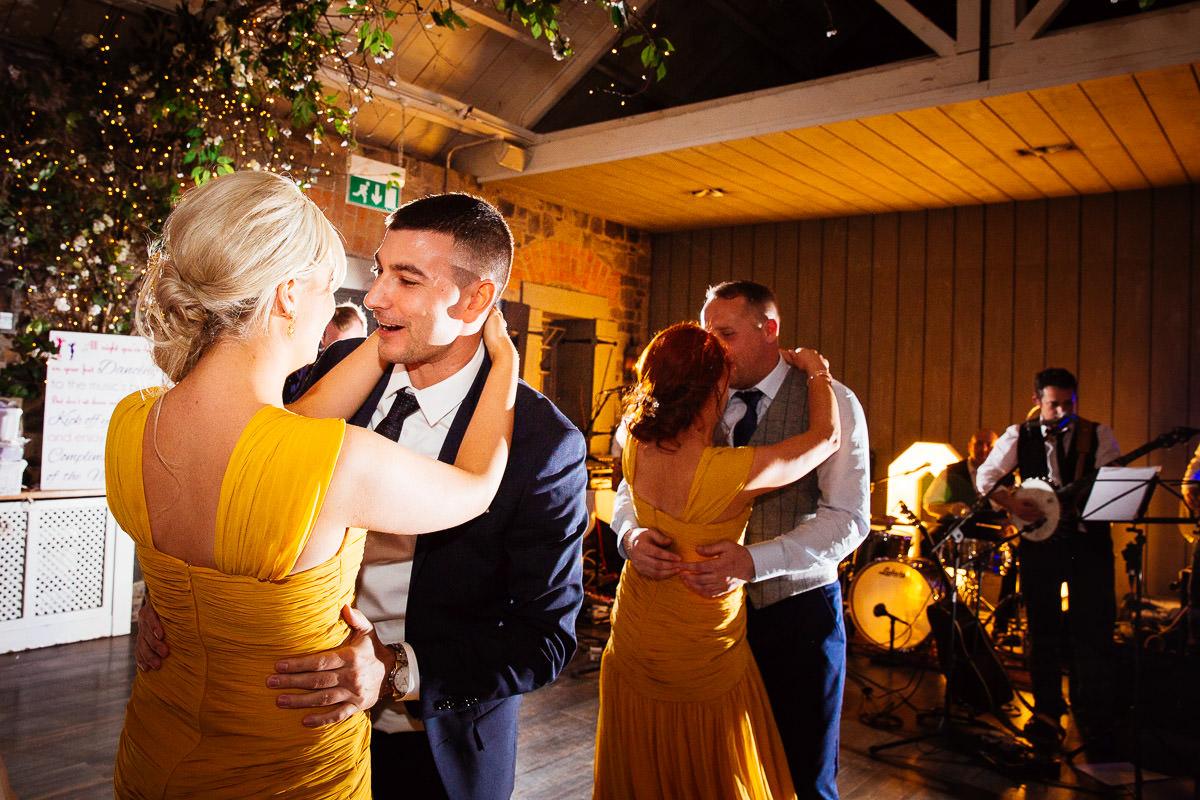 guests dancing at ballymagarvey wedding