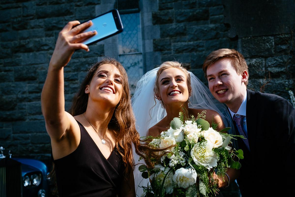 wedding at rathfeigh church meath