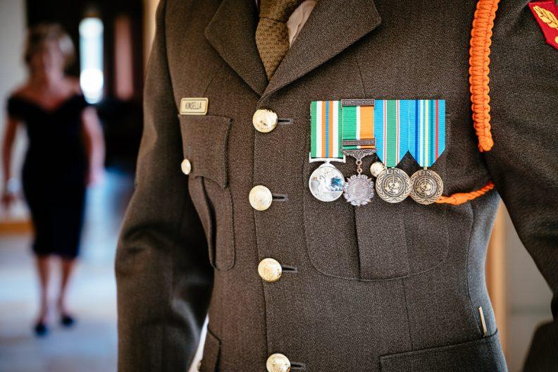irish military uniform