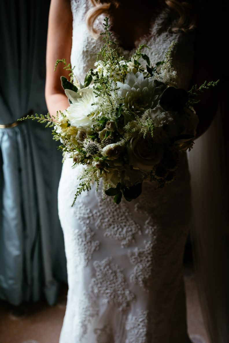 wedding bouquet tinakilly country house wedding