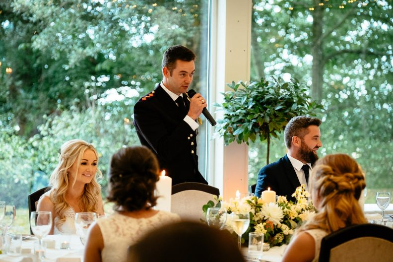 speeches tinakilly country house wedding
