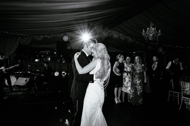 first dance at tinakilly country house wedding